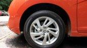 2015 Honda Jazz Orange wheel India