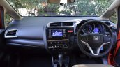 2015 Honda Jazz Petrol V CVT dasboard Review