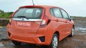 2015 Honda Jazz Petrol V CVT rear quarters Review