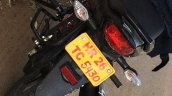 2015 Honda Livo taillight spotted up close