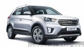2015 Hyundai Creta front three quarter unveiled press image