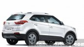 2015 Hyundai Creta rear quarter unveiled press image