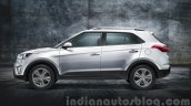 2015 Hyundai Creta side (1) unveiled press image