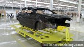2015 Mercedes GLA body shell enters local CKD assembly