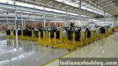 2015 Mercedes GLA door panels enters local CKD assembly