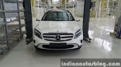 2015 Mercedes GLA front enters local CKD assembly