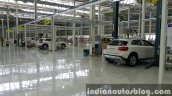 2015 Mercedes GLA quality checkpoint enters local CKD assembly