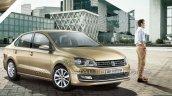 2015 VW Vento facelift front quarter brochure