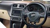 2015 VW Vento facelift interior brochure