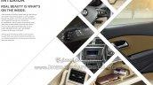 2015 VW Vento facelift interior changes brochure