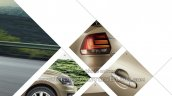 2015 VW Vento facelift rear changes brochure