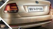 2015 VW Vento facelift rear end brochure