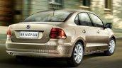 2015 VW Vento facelift rear quarter brochure