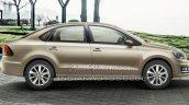 2015 VW Vento facelift side brochure