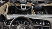 2016 Audi A4 (B9) vs 2013 Audi A4 (B8) interior old vs new