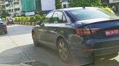 2016 Audi A4 rear quarter India spied
