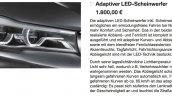 2016 BMW 7 Series LED headlights leaked