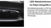 2016 BMW 7 Series foglights leaked