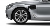 2016 BMW 7 Series front wing with plug in socket unveiled in Munich