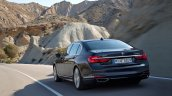 2016 BMW 7 Series rear three quarter unveiled in Munich
