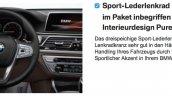 2016 BMW 7 Series steering leaked