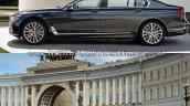 2016 BMW 7 Series vs 2014 BMW 7 Series side Old vs New