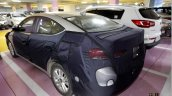 2016 Hyundai Elantra rear three quarter snapped with less camouflage