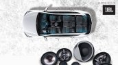 2016 Hyundai Santa Fe facelift music system