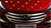 2016 Hyundai SantaFe Prime grille unveiled in Korea