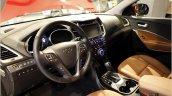 2016 Hyundai SantaFe Prime interior unveiled in Korea