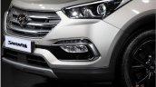 2016 Hyundai Santa Fe Prime lower fascia unveiled in Korea