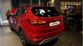 2016 Hyundai SantaFe Prime rear three quarter unveiled in Korea