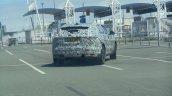 2016 Jaguar F-Pace rear quarter snapped in Calais