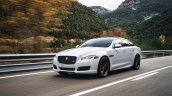 2016 Jaguar XJR front three quarter officially unveiled