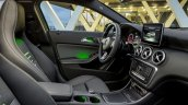 2016 Mercedes A Class Sport (facelift) front cabin revealed press image