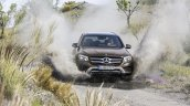 2016 Mercedes GLC off road shot unveiled press images