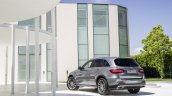 2016 Mercedes GLC rear quarter unveiled press images
