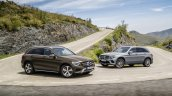 2016 Mercedes GLC standard and off-road packages unveiled press images