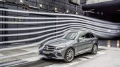 2016 Mercedes GLC wind tunnel testing unveiled press images