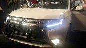 2016 Mitsubishi Outlander front quarter available in diesel variant