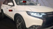 2016 Mitsubishi Outlander front three quarter available in diesel variant