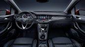 2016 Opel Astra dashboard leaked