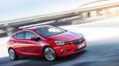 2016 Opel Astra front quarter leaked