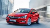 2016 Opel Astra front quarters leaked