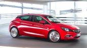 2016 Opel Astra side leaked