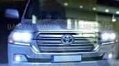 2016 Toyota Land Cruiser facelift lights leaked