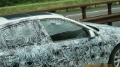 2017 BMW 1 Series sedan front end interior snapped testing
