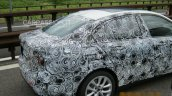 2017 BMW 1 Series sedan rear end snapped testing