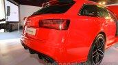 Audi RS6 Avant rear India launch