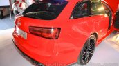 Audi RS6 Avant rear quarter India launch